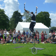 Unicycle Performer
